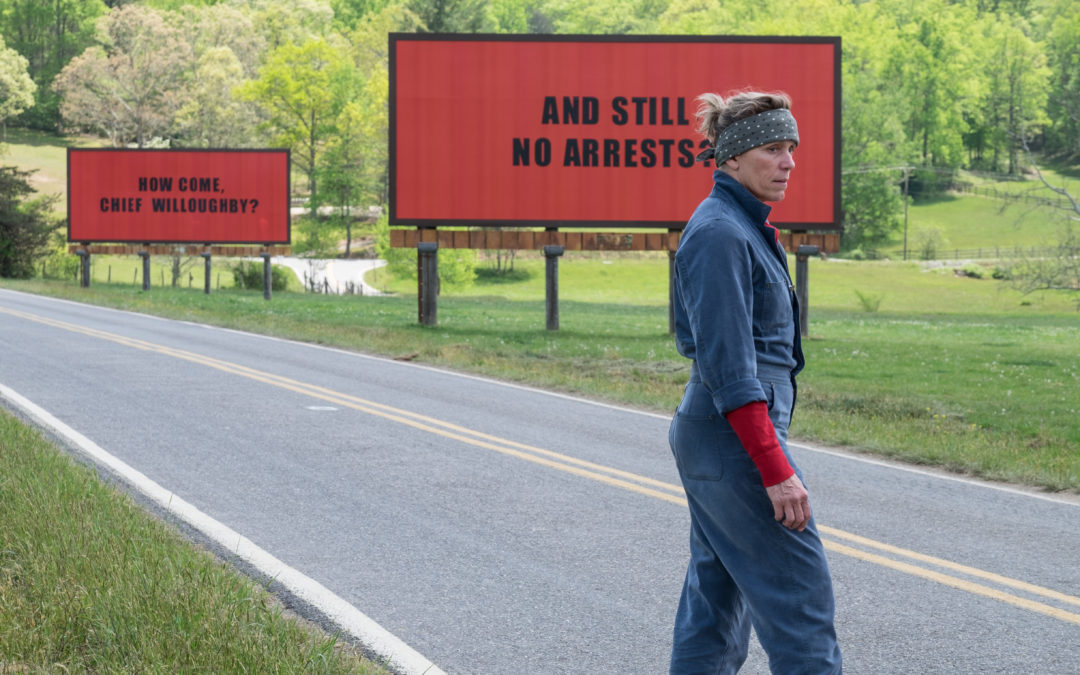 Venezia 74. Three billboards outside Ebbing, Missouri. La provincia americana di McDonagh.