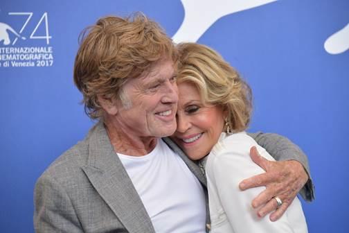 "Venezia 74: Jane Fonda e Robert Redford ""anime di notte"" al Festival"