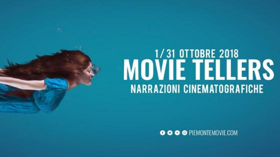Dal 1° al 31 ottobre torna MOVIE TELLERS, il cinema piemontese in tour