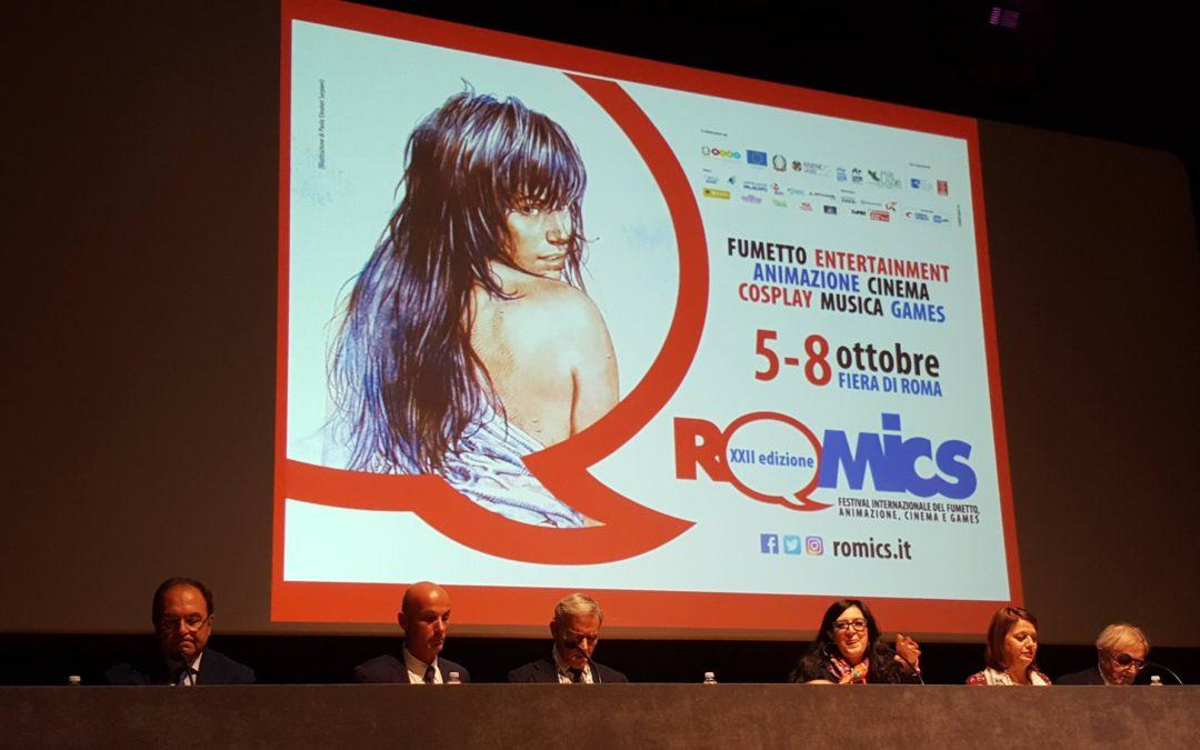 Conferenza Stampa XXII edizione Romics: la parola agli autori